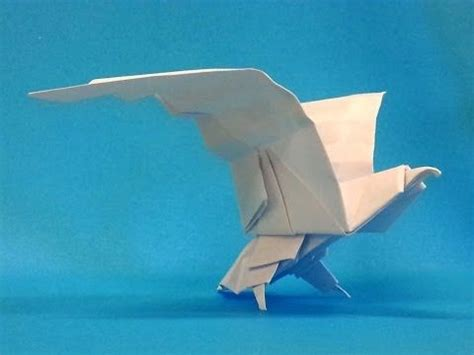 How To Make An Origami Eagle Step By Step - how to make an origami eagle origami animals