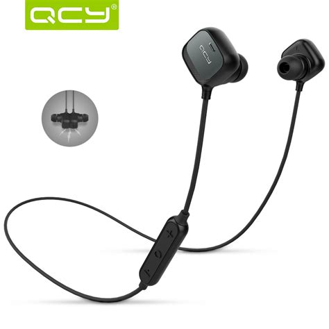Headset Bluetooth Qcy wireless headset bluetooth headphone earphone original qcy qy12 in ear with microphone for