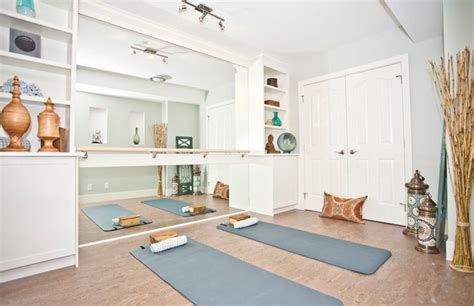 home yoga room design ideas yoga room asian home gym calgary by ana interiors