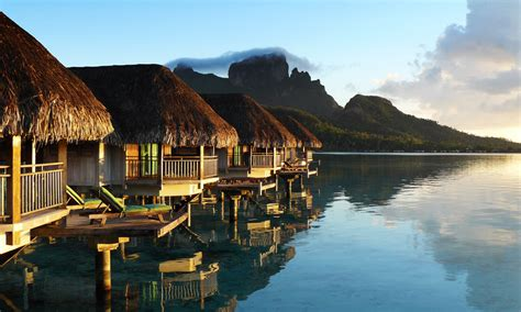 overwater bungalow private overwater honeymoon tahiti com