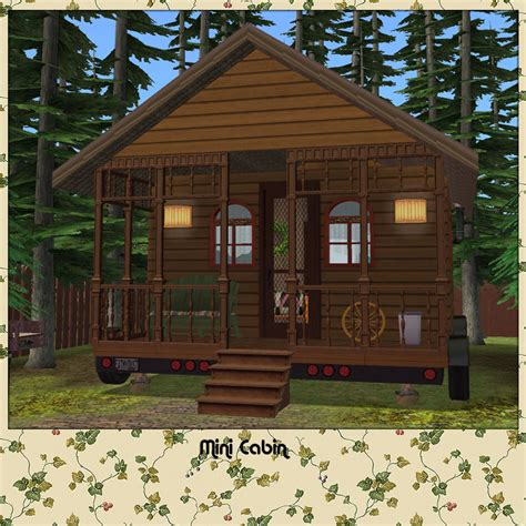 mini houses mod the sims the mini house kit