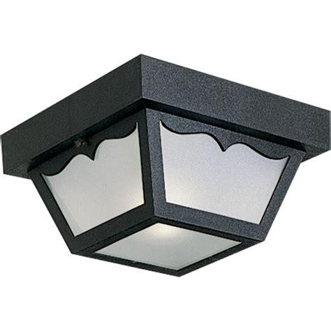 progress lighting p5744 31 black ceiling mount series 8 1