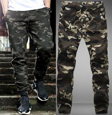 Celana Anak Joger Harem Xl ukuran besar m 5xl mens musim semi militer celana harem kasual pria celana kamuflase
