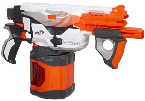 amazon nerf guns nerf vortex pyragon blaster amazon co uk toys games