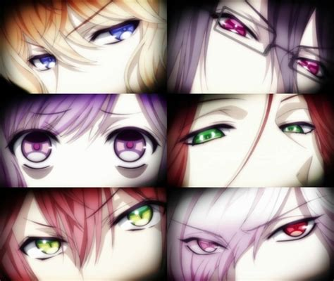 diabolik lovers subaru eyes sakamaki brothers eyes we heart it anime vire and