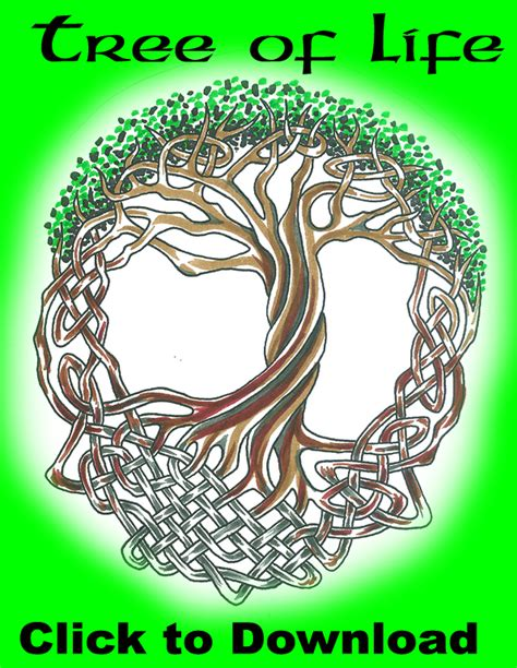 celtic tree of life tattoo design celtic tattoos and designs page 190