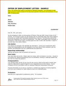 write cover letter formal offer letter exles of