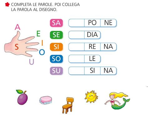 alimenti iniziano con la lettera e giochi e colori schede didattiche maestro fabio