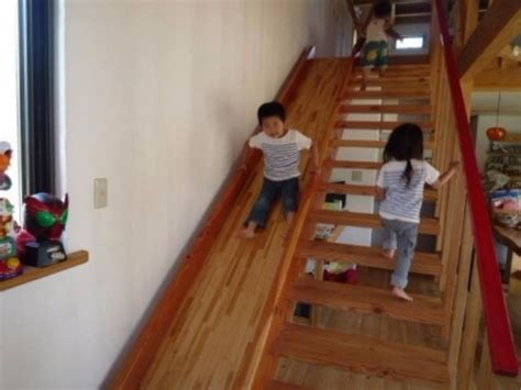 Turn Your Home Into a Playground With A Stair Slider That
