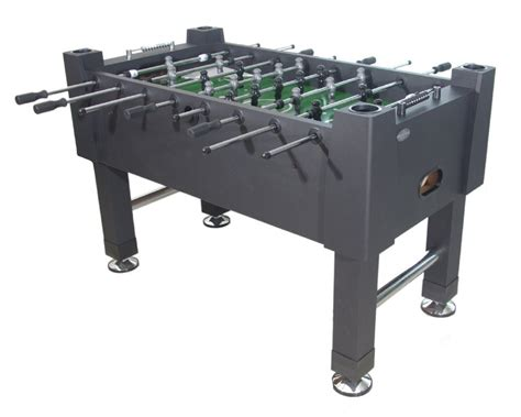 berner billiards quot the player quot foosball in black with