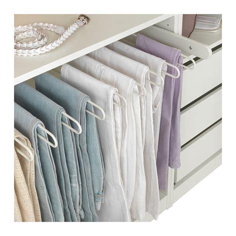 ikea wardrobe hanger komplement pull out hanger gray pant hangers