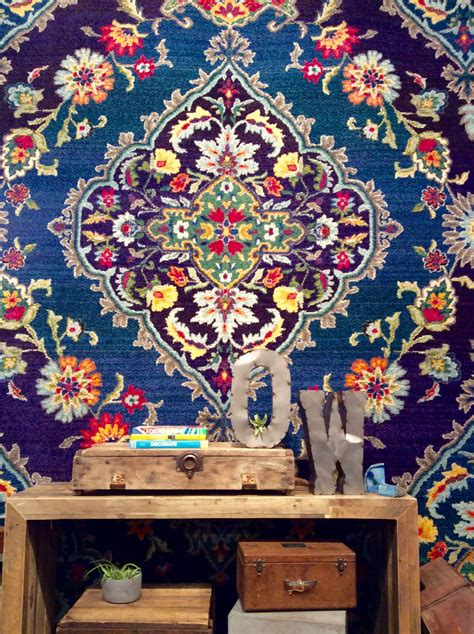 las vegas rugs new from weavers design 761n in the bohemian collection at las vegas market rug news