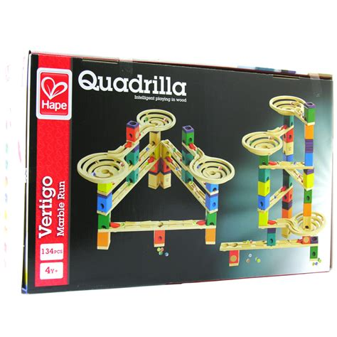 Which Hape Marble Run Quadrilla - hape quadrilla vertigo marble run ebay