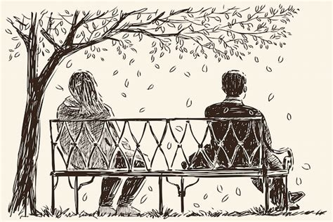 how to draw people sitting on a bench the most powerful way to resolve conflicts in relationships