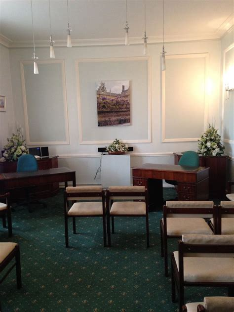 Blue Room Cambridge by Room Cambridge Registry Office Ceremony