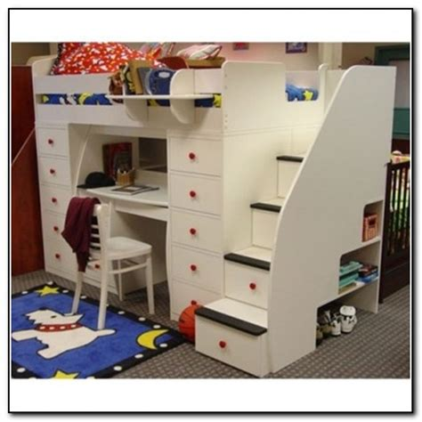 bunk beds with storage stairs bunk beds with stairs and storage beds home design