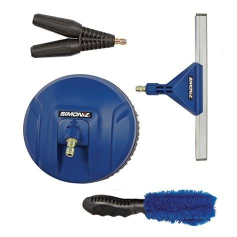 pressure washer accessory kits power washer supplies simoniz