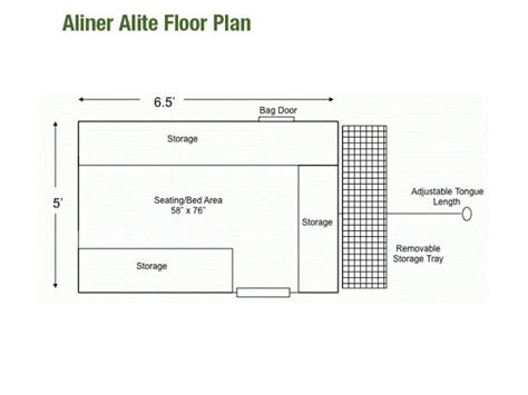 aliner floor plans aliner alite 400 for sale autos post