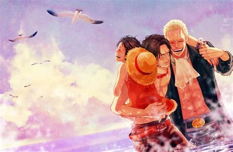 ladari fan ace luffy and sabo one one