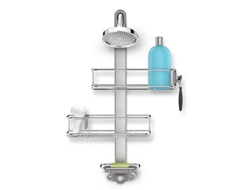 Shower Cady by Simplehuman Adjustable Stainless Steel Shower Caddy
