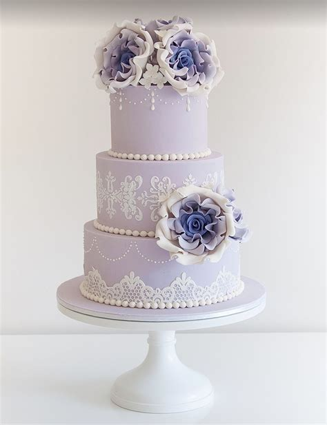 Wedding Cake Lavender by 17 Best Images About Purple Cakes Or Decor Layers On