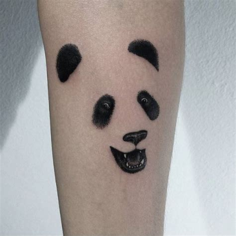 panda tattoos simple panda best ideas gallery