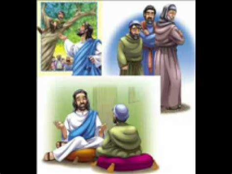 imagenes de jesus en casa de zaqueo zaqueo leccion 6 demasiado bajo para ver youtube