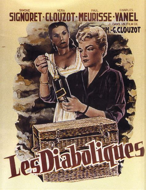 Diabolique 1955 Film Les Diaboliques Diabolique 1954 Unifrance Films