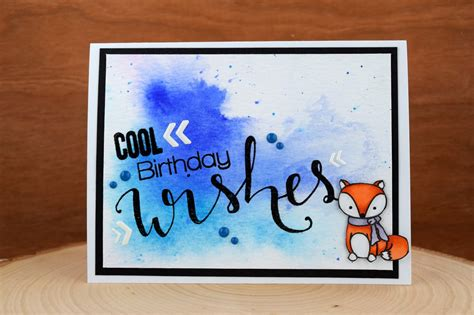 Winter Birthday Cards Jess Crafts Winter Birthday Card Using Create A Smile Sts