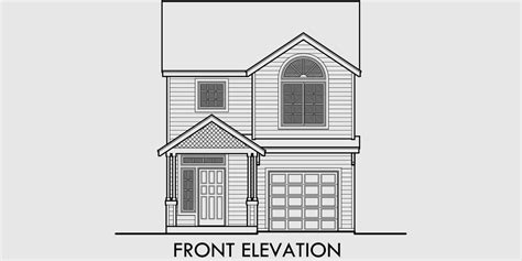House Plans With A View To The Front by Narrow House Plan At 22 Wide Open Living 3 Bedroom 2