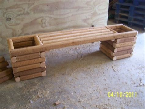 flower pot bench plans wood planter bench plans benches