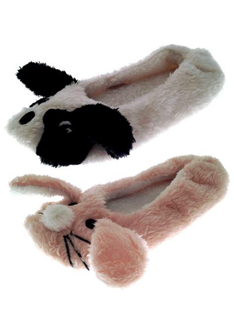 animal slipper socks 3d novelty plush animal slippers ballet pumps
