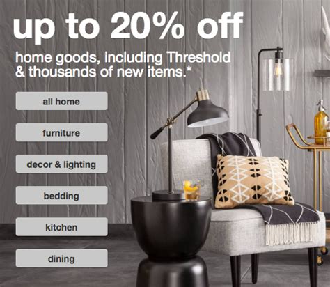 last day target home sale up to 20 off and buy more target home triple stack 20 off extra 15 10 off 75