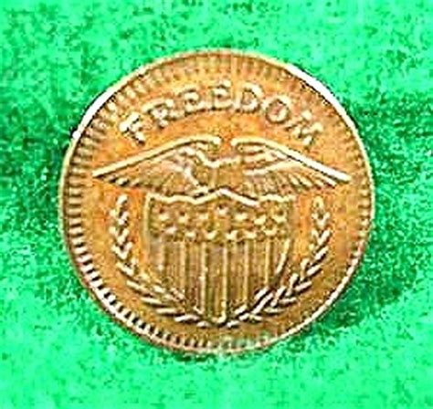 This Token Of Freedom freedom token eagle shield 13 civil war