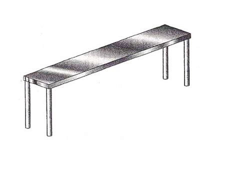 Single Shelf by Single Shelf Heavy Duty 16 Quot X 48 Quot Single Tier