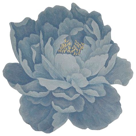 floral shaped rugs floral blue rug 5 x5 shaped bloom bm41 by nourison rugs contemporary area rugs by
