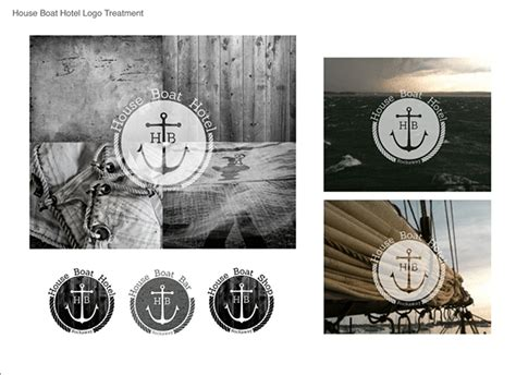 house boat hotel house boat hotel brand id on behance