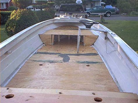 How To Fiberglass A Boat Floor by One Secret Fiberglass Boat Design And Construction