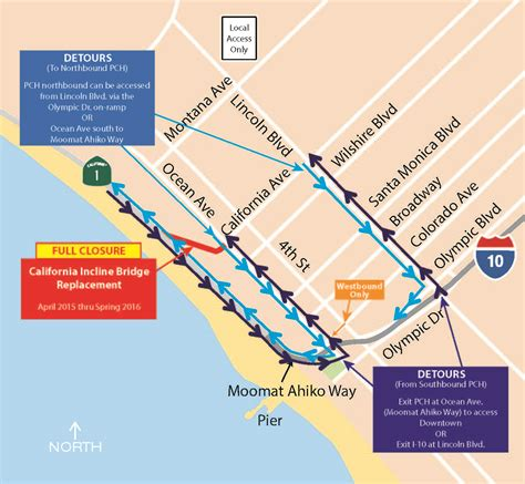 Current Traffic On Pch - santa monica constructs the future california incline replacement