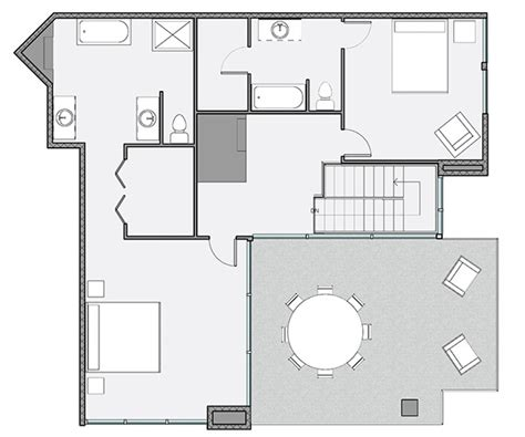 stahl house floor plan stahl house on behance