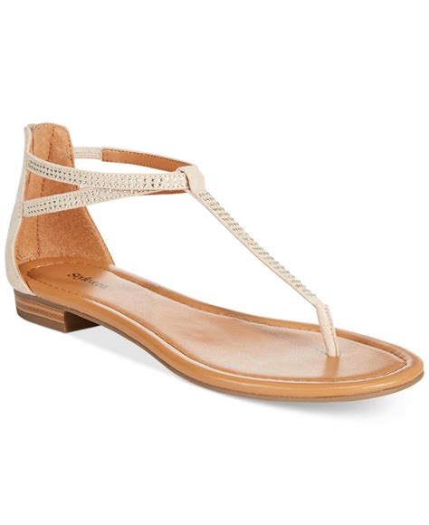 sandals at macy s style co brinna embellished sandals only at macy