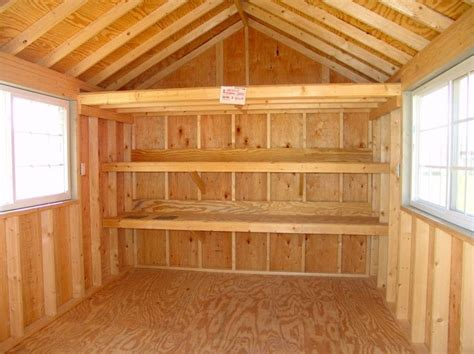 Shelves For Sheds by 25 Best Ideas About Shed Shelving On Building