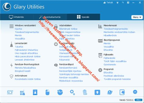 glary utilities for android ingyen szoftver minden nap mi 233 rt fizetn 233 l ha ingyen is megkaphatod glary utilities 5 65 magyar