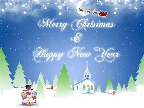 gambar merry christmas happy  year blog gambar natal