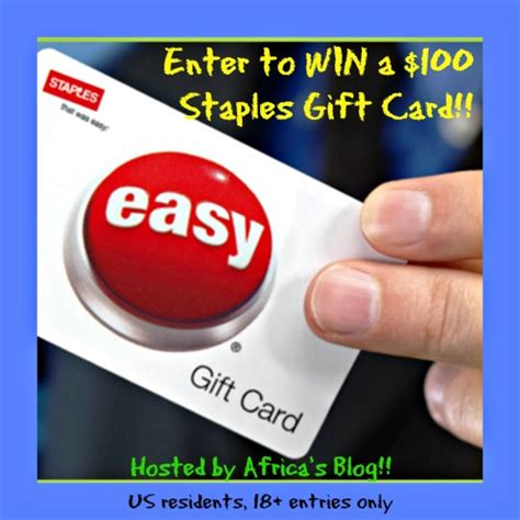 Staples Gift Cards - staples gift card africa s blog