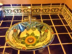 mexican sinks bathroom how to remodel your bathroom using mexican tile and sinks