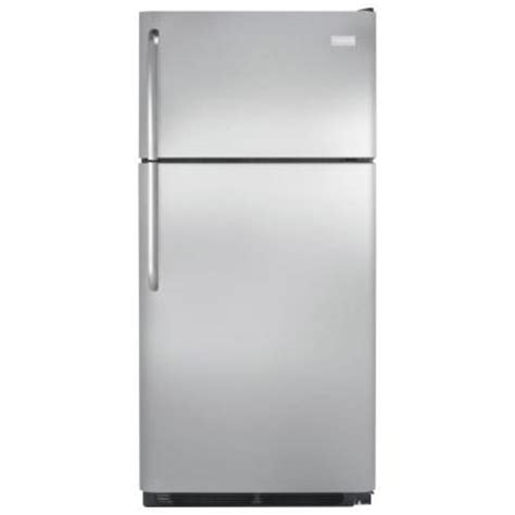 frigidaire 15 cu ft top freezer refrigerator in