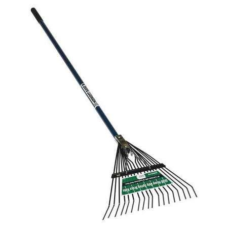 rake head seymour midwest rake lawn rake 18 quot 54 quot blue handle 40931 zoro