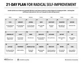 30 day performance improvement plan template 21 day plan for radical self improvement print friendly