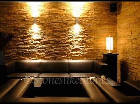 Wandgestaltung Steine Wohnzimmer by Wohnzimmer Wandgestaltung